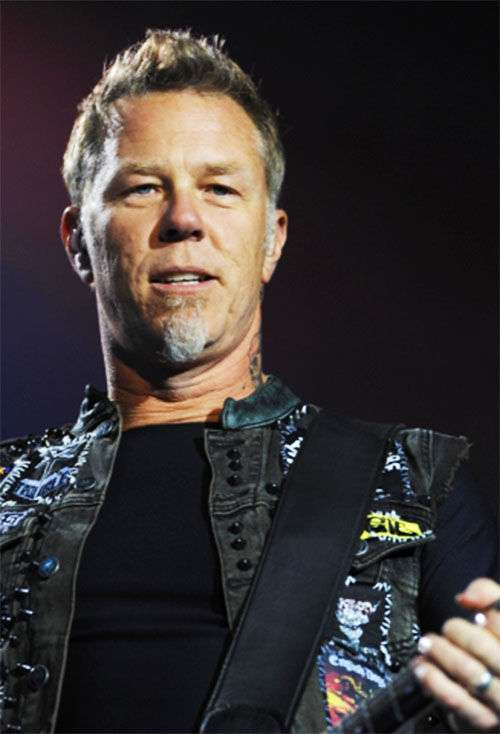 james hetfield bio height weight measurements celebrity facts. Black Bedroom Furniture Sets. Home Design Ideas